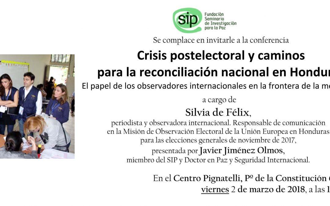 Crisis postelectoral y caminos para la reconciliación nacional en Honduras