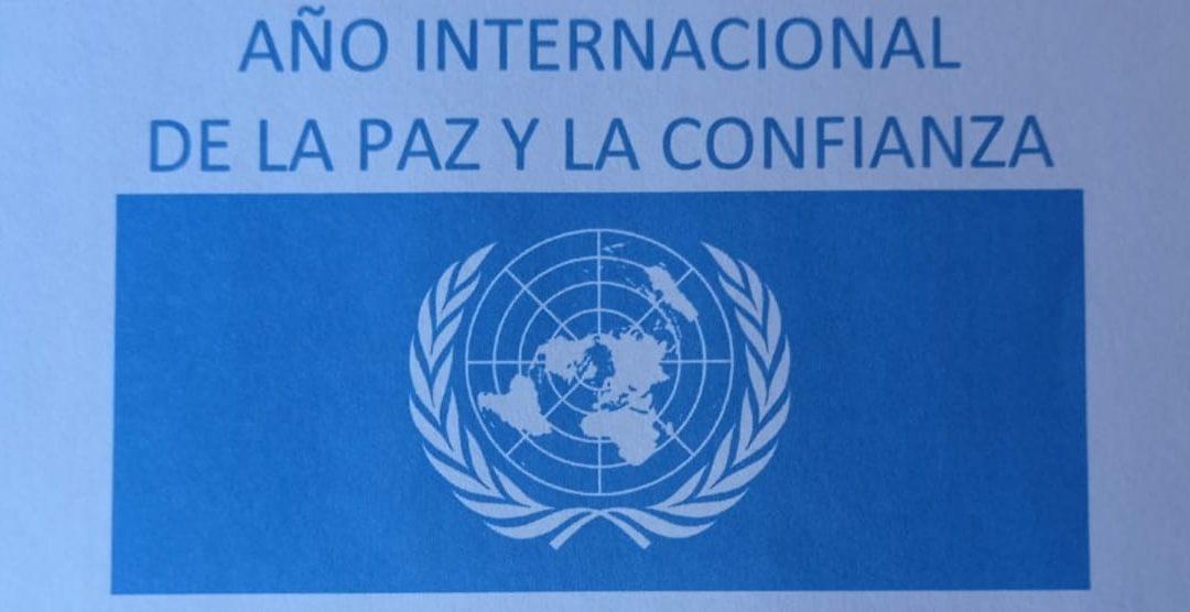Democracia en el Año Internacional de la Paz y la Confianza: progreso a través de la moderación